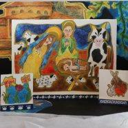 Valašský malovaný betlém